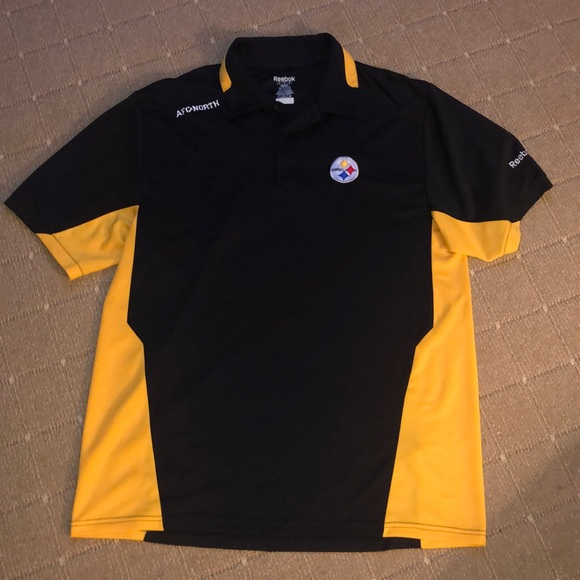 Reebok Shirts   Last Callsteelers Polo